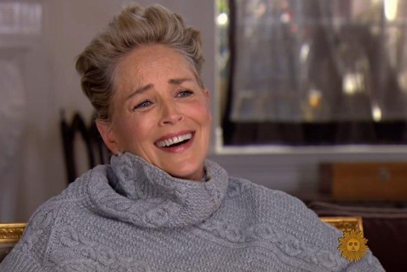 VIDEO | Sharon Stone puhkes laginal naerma, kui talt küsiti, kas teda on ahistatud
