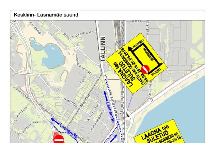 VAATA | Gonsiori tänava rekonstrueerimisega muutub liikluskorraldus