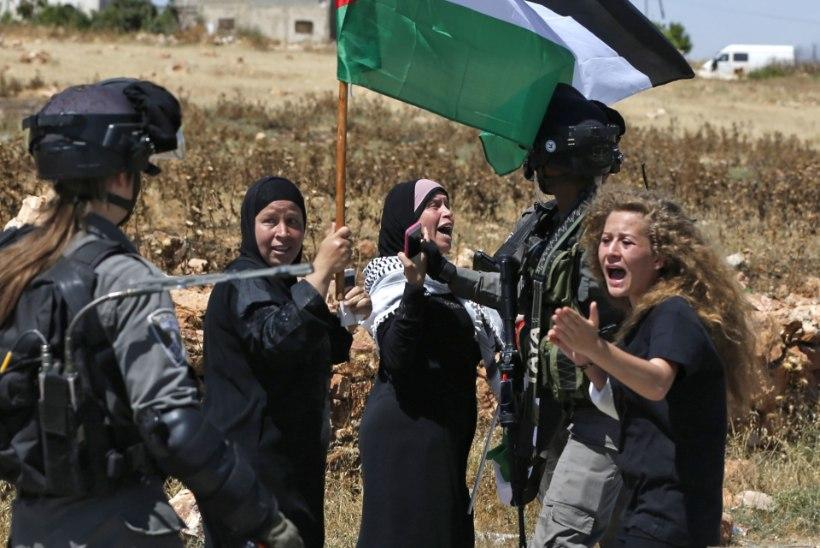 PALLYWOODI ETENDUS? Palestiina tüdruk läks Iisraeli sõduri kiusamise eest vangi