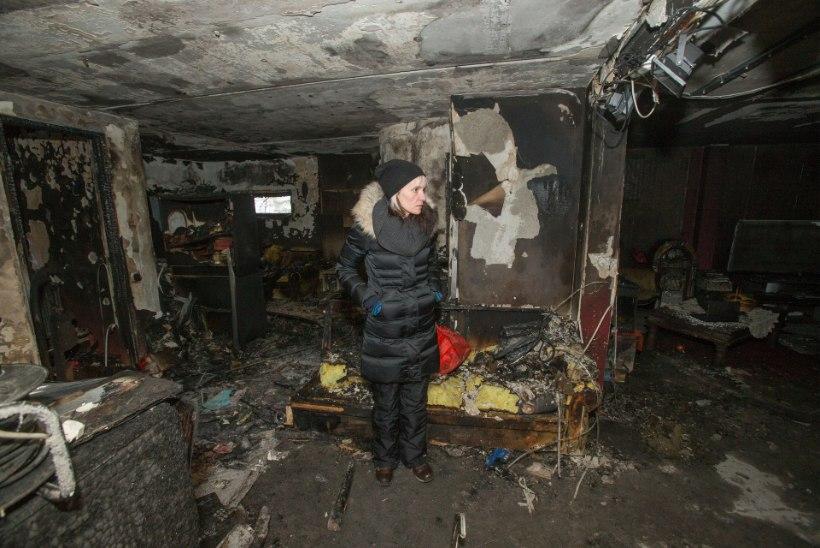 """Tulekahjus kodu kaotanud pereema: """"Lootsin, et on rohkem aega. Filmides jõuavad päästjad ikka midagi päästa."""""""