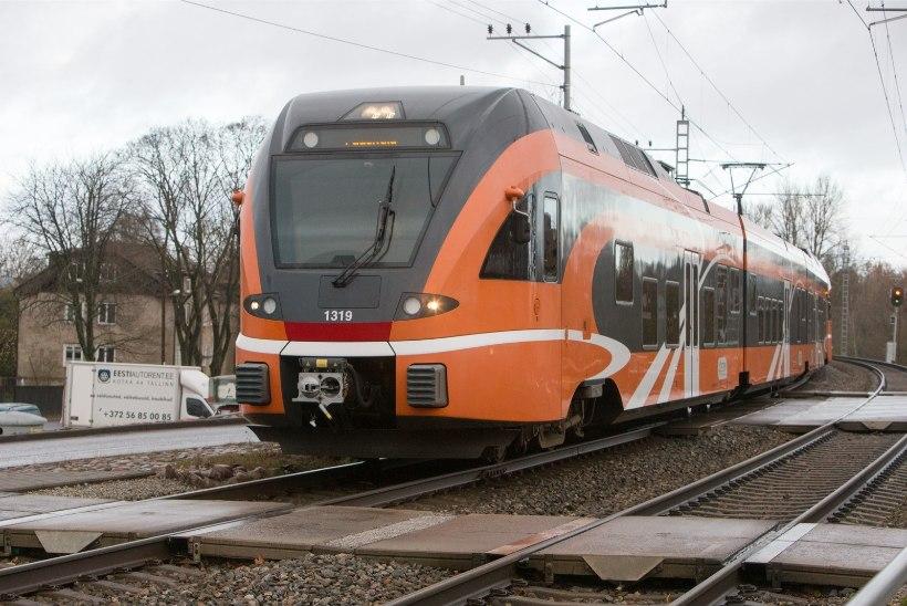 Aegviidus sai reisirongilt löögi raudteel töötanud mees