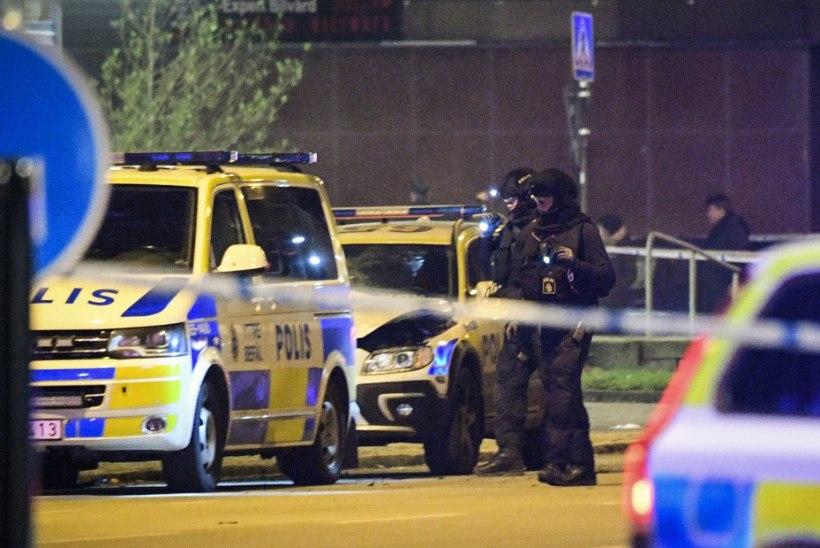 Malmö politseijaoskonna juures kärgatas tugev plahvatus