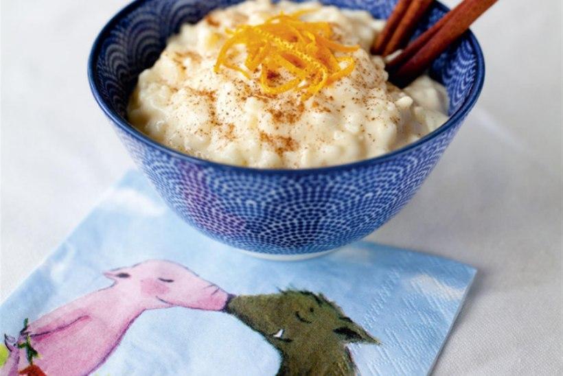Riisipuding Kreeka moodi ehk rizogalo