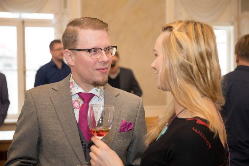 Värske linnakirjanik Mika Keränen: kalender on juba mõnusalt kohtumisi täis