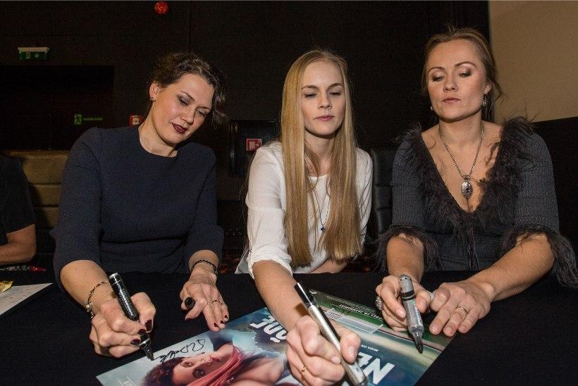 """GALERII   """"Pilvede all"""" filmi esilinastusel selgus neljanda õe osatäitja"""