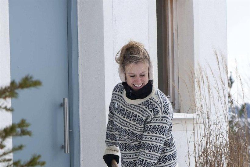 Talv – lumi ja jää on majaomanikule paras väljakutse