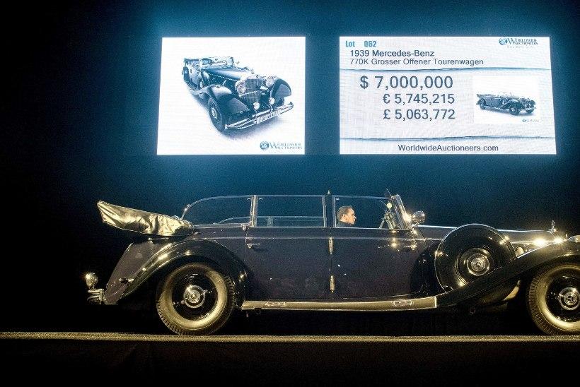 Adolf Hitleri Mercedes jäi oksjonil müümata