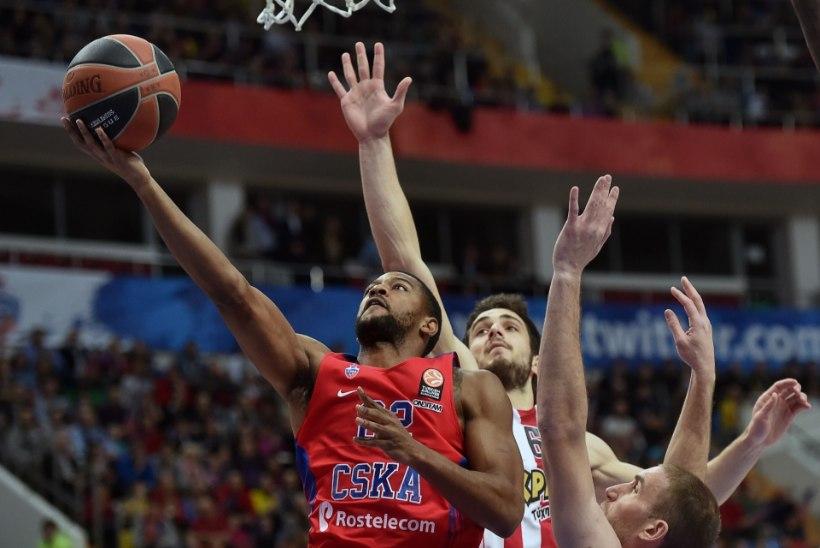 CSKA teenis imevähe vabaviskeid, kuid kindlustas Euroliigas oma juhtpositsiooni