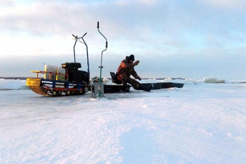 Lubatud on minna Peipsi järve jääle