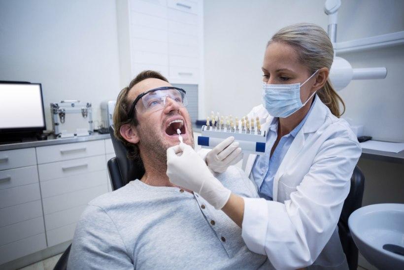 Millised mured viisid inimesed mullu hambaarsti juurde kõige sagedamini?