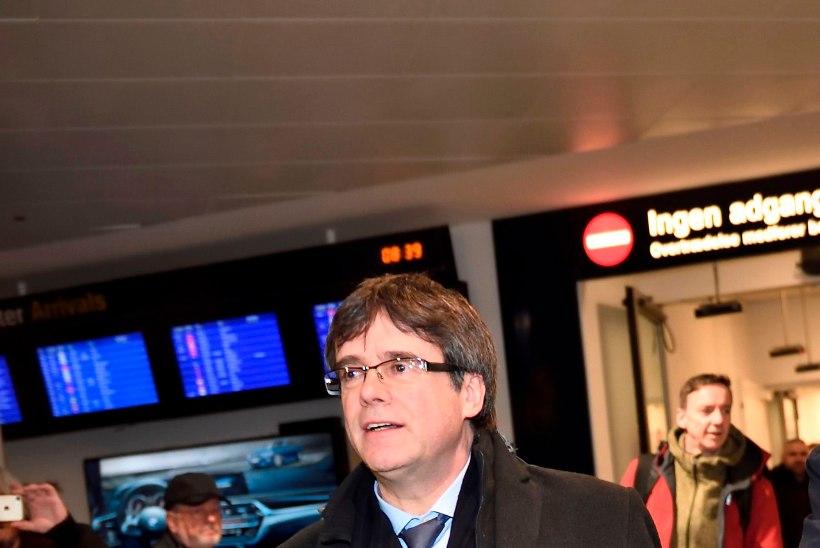 FOTOD | Puigdemont saabus Taani, kus teda võib ees oodata vahistamine