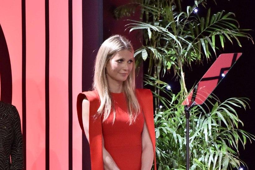Gwyneth Paltrow näitas hiiglaslikku SINIST kihlasõrmust