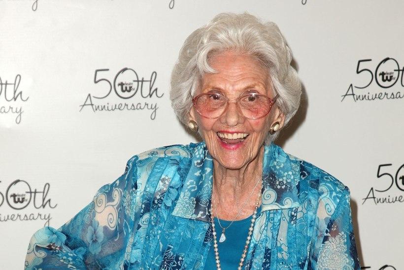 105 aasta vanuses suri Hollywoodi vanim tegevnäitlejanna