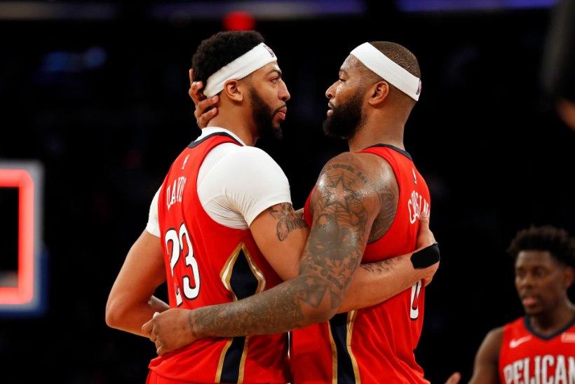 DeMarcus Cousins kordas NBAs Kareem Abdul-Jabbari üliammust saavutust