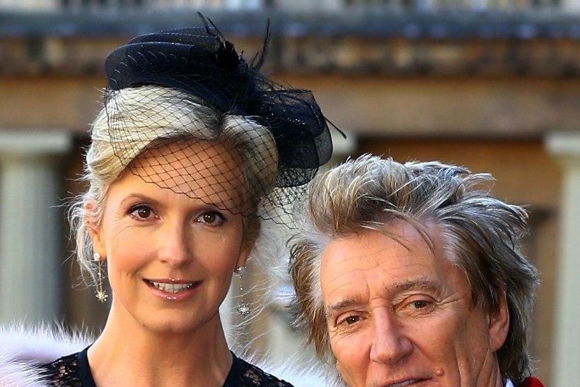 Rod Stewarti naisel diagnoositi düsleksia