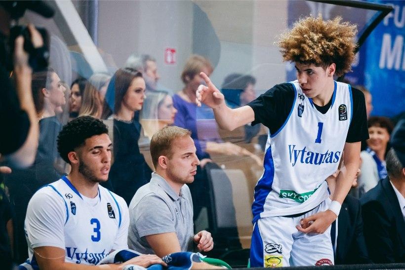 Leedus treeneriks kehastunud LaVar Ball pärast 147:142 lõppenud kohtumist: nii palju kaitset pole kunagi mängitud!