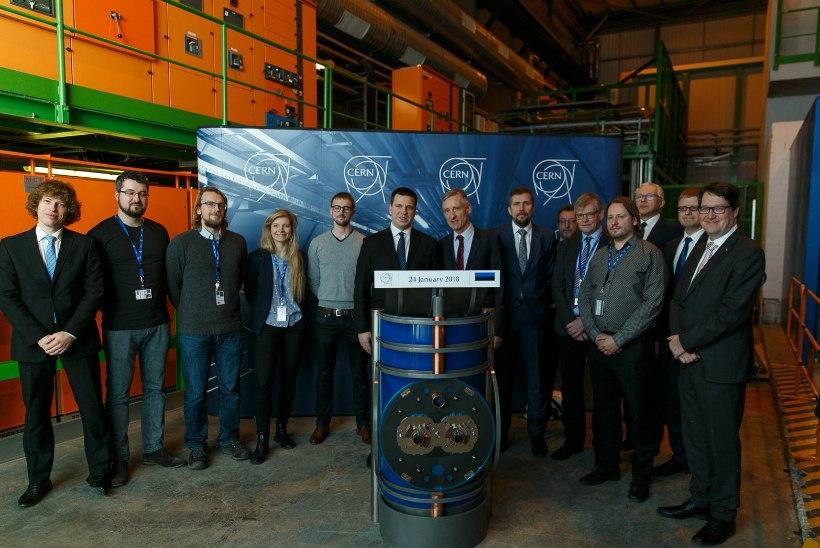 FOTOD | RATAS GENFIS: Eesti liitumine CERNiga annab uusi võimalusi meie teadlastele ja ettevõtjatele