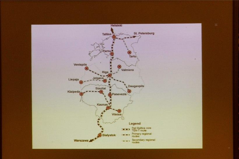 RAIL BALTIC UUES ETAPIS: algab projekteerimine ja maade võõrandamine