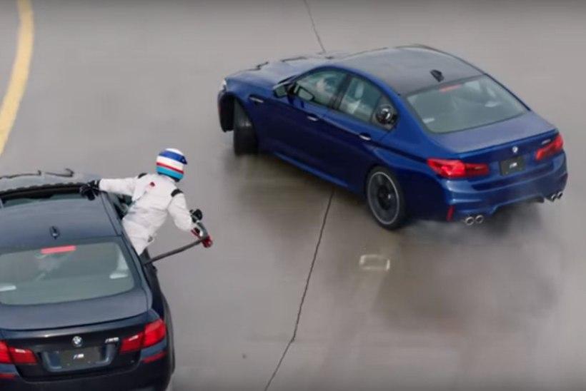 VIDEO   BMW võttis ülekaalukalt tagasi pikima drifti Guinnessi rekordi