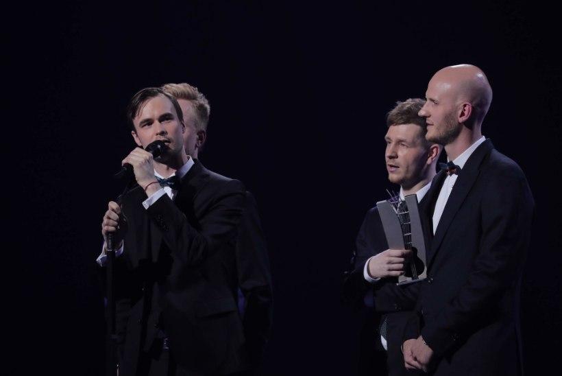 Kolme muusikaauhinnaga pärjatud Miljardid: me ei teinud albumit selleks, et kellelegi meeldida