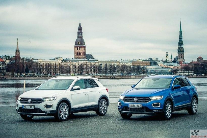 PILK PEALE, KÄSI KÜLGE: popp ja nooruslik Volkswagen T-Roc pisimaastur