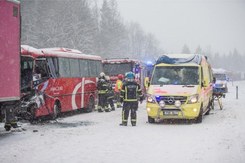 Maanteeamet: talvel ongi talvised teeolud normaalsed