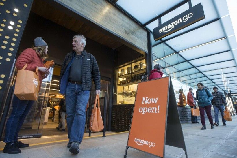 ISETEENINDUSE UUS TASE: milliste äpardustega startis kassavaba kauplus Amazon Go?