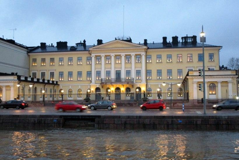 SOOMES MUUTUSTETA: Sauli Niinistö valitakse tagasi presidendiks