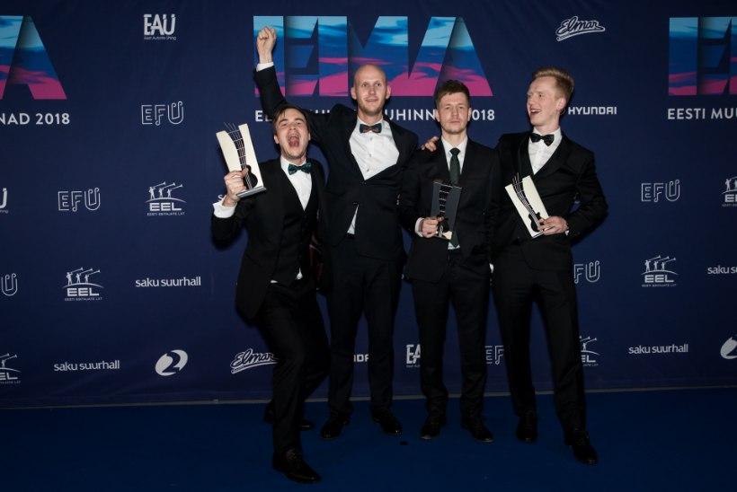 EMA edukaim bänd Miljardid: aasta parima ansambli auhind pidanuks kuuluma meile!