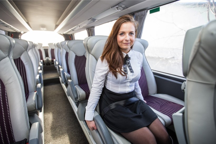 Kui bussis on turvavöö, tuleb see ka kinnitada