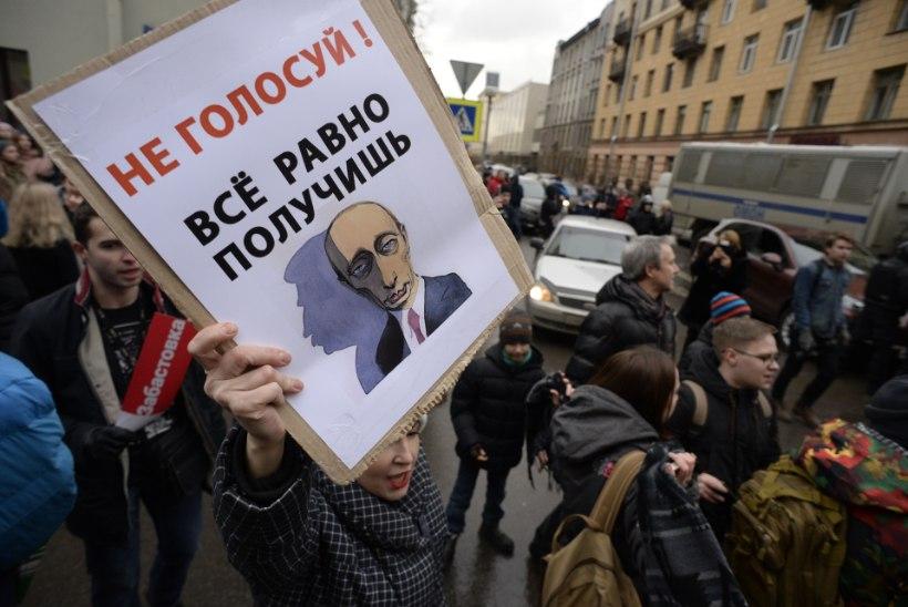 Vene politsei vahistas opositsiooniliidri Aleksei Navalnõi