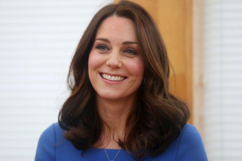 Kate Middleton annetas osa oma juustest vähihaigetele lastele parukate tegemiseks