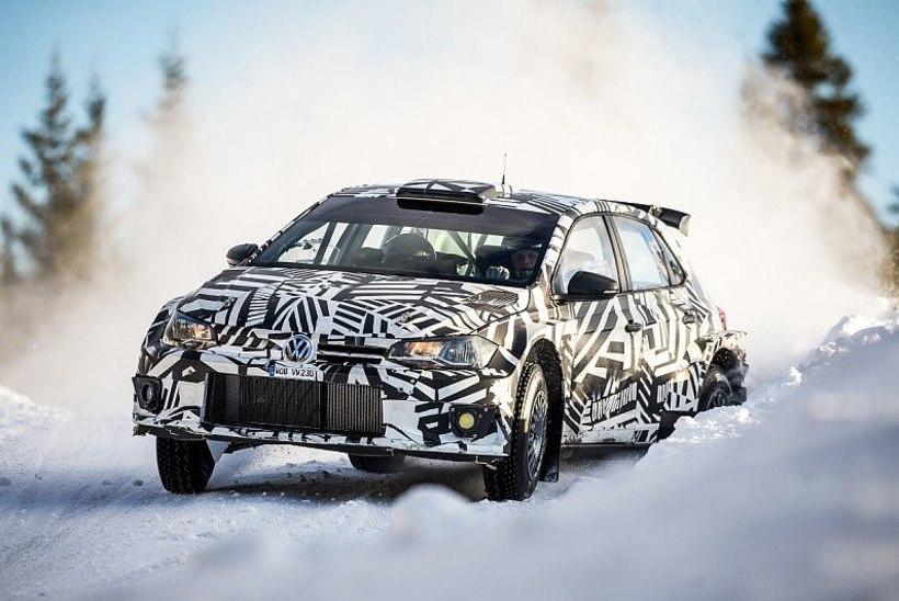 Grönholm ja Solberg testisid Volkswageni uut rallimasinat