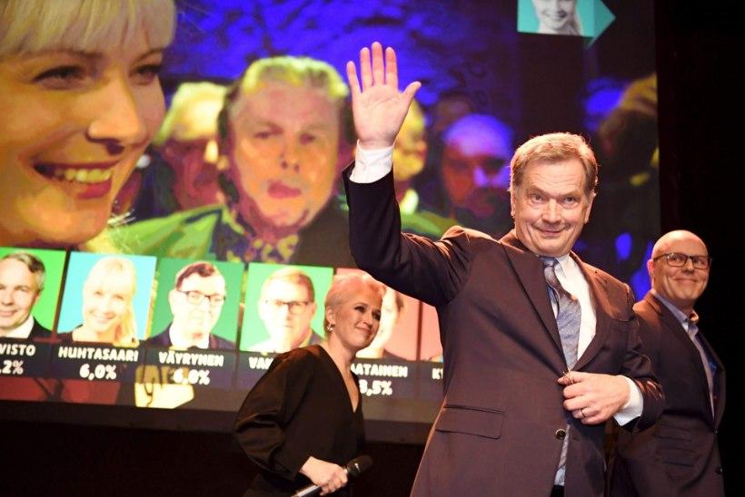 Sauli Niinistö valiti tagasi Soome presidendiks