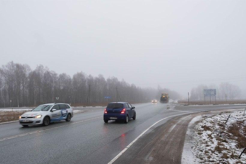 GALERII | Reolas juhtus nelja sõiduautoga avarii, kannatada sai kolm inimest