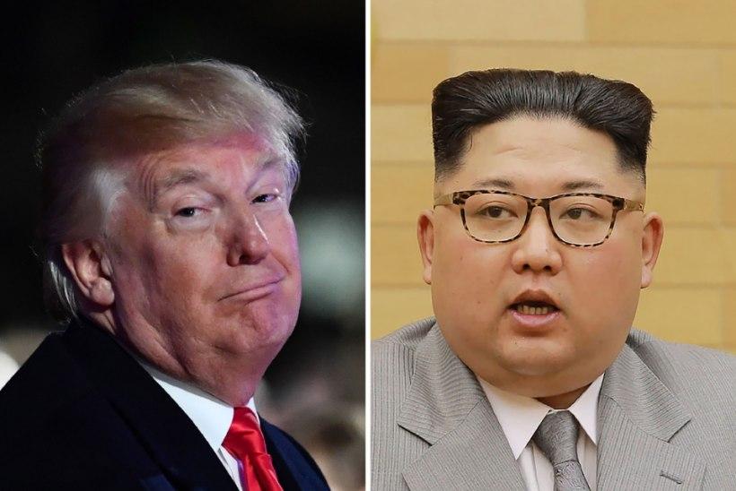 Trump Kim Jong-unile: mul on suurem tuumanupp kui sul