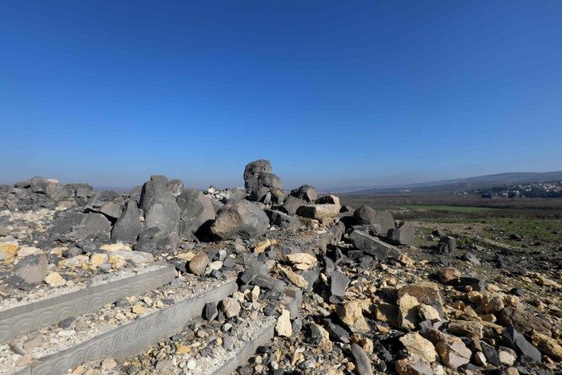 Iidne tempel sai Türgi õhurünnakutes tõsiselt kahjustada