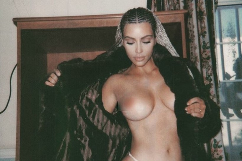 FOTOD | Kim Kardashian valas sotsiaalmeedia üle alastipiltidega, Piers Morgan pritsib sappi