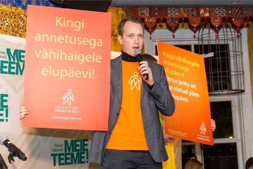 Kontserdipublik annetas vähihaigete toetuseks ligi 4800 eurot