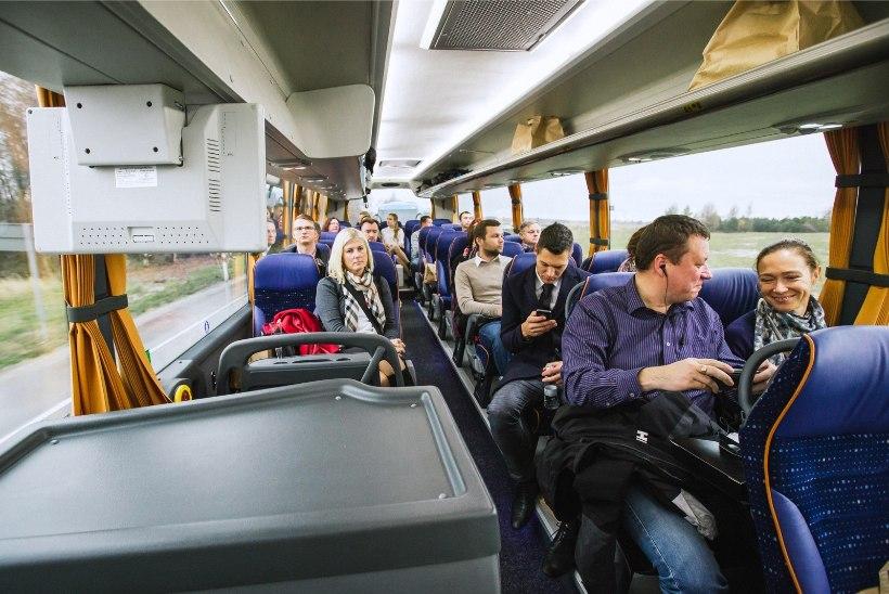 80 protsenti Eesti elanikest kasutab kaugbussiliiklust