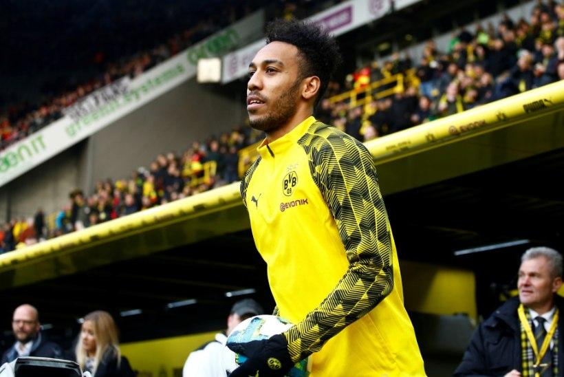 Londoni Arsenal ostis klubi rekordsumma eest Dortmundist Aubameyangi