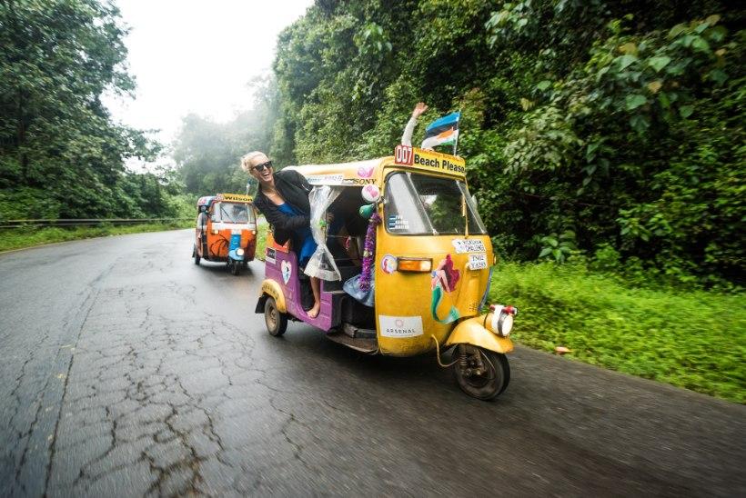 """Täna alustab uus hoogne reisisari """"India Xpress: pöörane seiklus tuk-tukkidega"""""""
