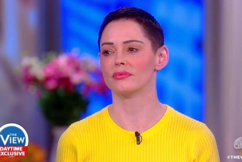VIDEO   Rose McGowan: oksendasin end täis, kui Harvey Weinstein mulle pärast vägistamist helistas