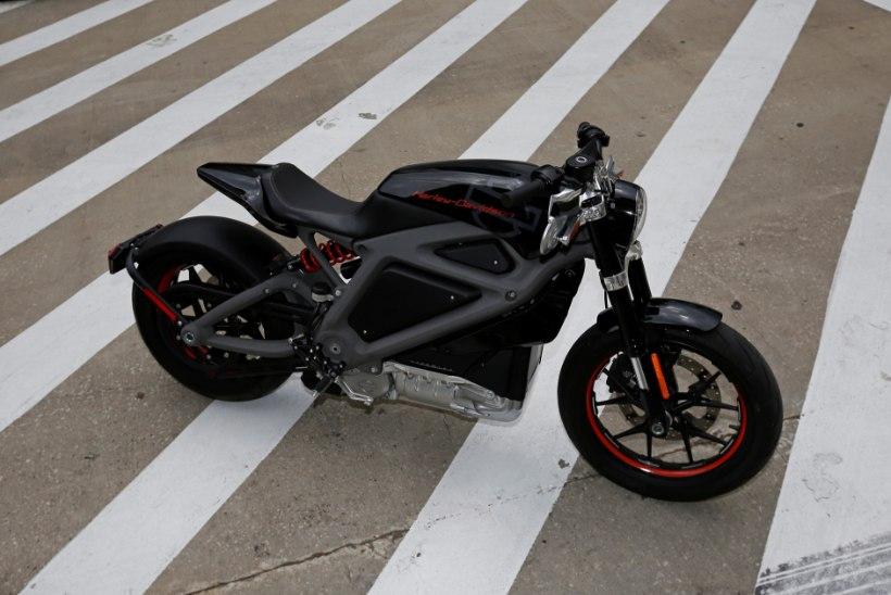 MISKI POLE ENAM PÜHA: Harley-Davidson ehitab elektrimootorratast