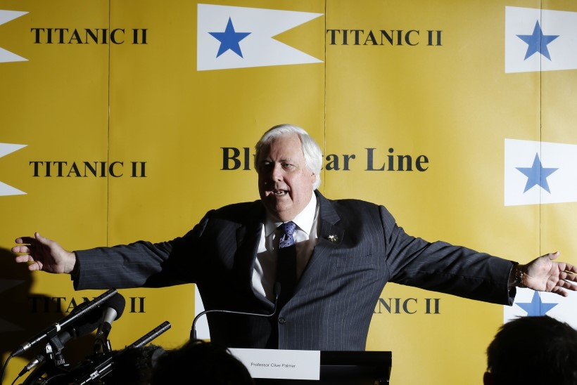 Ekstsentriline miljonär taasehitab Titanicut