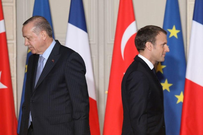 Macron: Türgi ei saa mingil juhul euroliitu