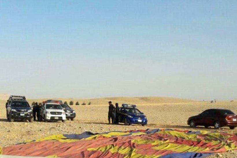 Luxori lähistel hukkus kuumaõhupalliga juhtunud õnnetuses turist