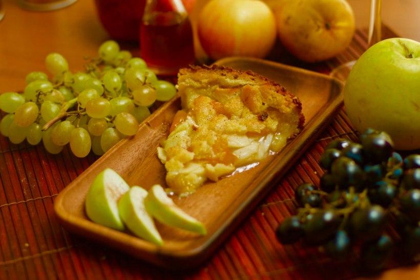 COOP KOKAKOOL | Õuna-nektariini purukook