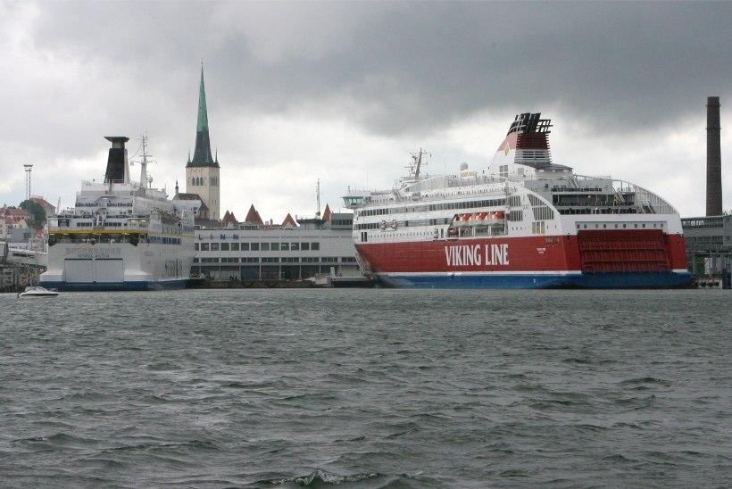 ÜLE 10 MILJONI: Tallinna sadamat läbis 10. aastat järjest rekordarv reisijaid