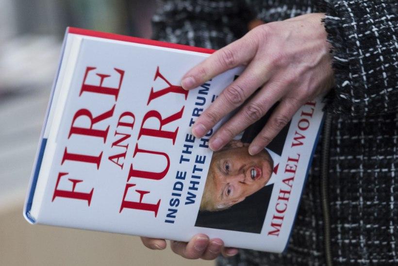 TRUMP ON DEMENTNE? Kõmumaiguline uus raamat ärritab ja lööb laineid
